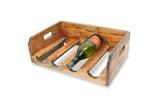 100036 Wijnflesrek hout stapelbaar SSA-WF-01