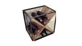 Wijnrek kruis breed gefotografeerd