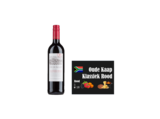 Oude Kaap Klassiek Rood Zuid Afrika I Like Wine met wall of wine wijnkaartje