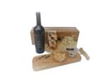 Primitivo Kaasblokjes Saltufo Notenmix I Like Wine Tapasplank