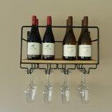 100048 Wijnrek flessen en glazen Paul Mas I Like Wine ILikeWine.nu
