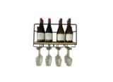 100048 Wijnrek flessen en glazen Paul Mas I Like Wine ILikeWine.nu front page