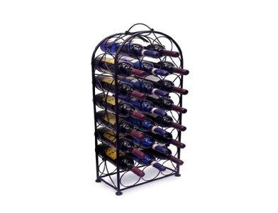 Wijnkast metaal rond van boven I Like Wine