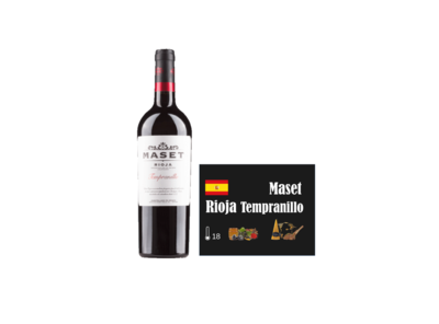 Maset Rioja Tempranillo I Like Wine ILikeWine.nu Wall of Wine WallofWine.nl wijnkaartjes
