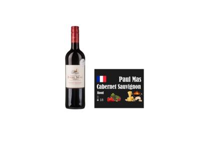 Paul Mas Classique Cabernet Sauvignon I Like Wine ilikewine.nu wall of wine de nieuwe wijnkaart wallofwine.nl