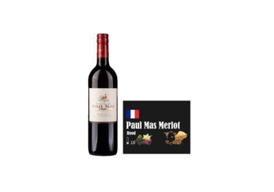 Paul Mas Classique Merlot I Like Wine ILikeWine.nu Wall of Wine de nieuwe wijnkaart wallofwine.nl