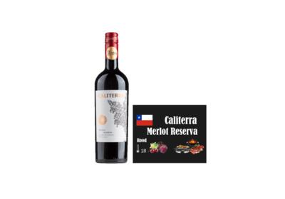 Caliterra Merlot Reserva I Like Wine Ilikewine.nu wall of wine de nieuwe wijnkaart wallofwine.nl