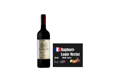 Raphael Louie Merlot I Like Wine ILikewine.nu wall of wine de nieuwe wijnkaart