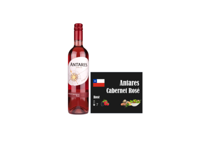 Antares Rose Rosado I Like Wine Ilikewine.nu wall of wine de nieuwe wijnkaart wallofwine.nl