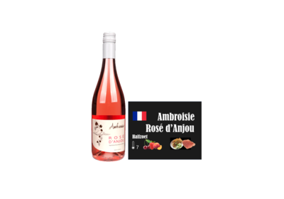 Ambroisie Rose d Anjou I Like Wine ILikeWine.nu Wall of wine de nieuwe wijnkaart WallofWine.nl