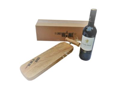 Conde Pinel Tempranillo en I Like Wine & Tapasplank