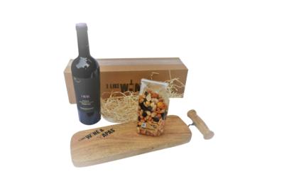 I Muri Primitivo di Salento Puglia Tapasnootjes en I Like Wine Tapasplank