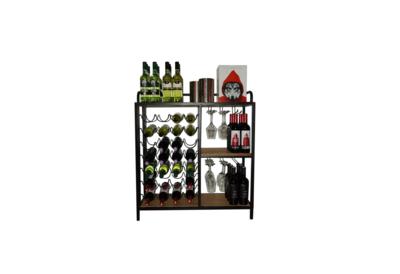 100058 wijnrek wijndisplay wijnkast I Like Wine