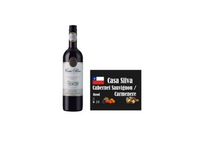 Casa Silva Cabernet Sauvignon Carmenere I Like Wine