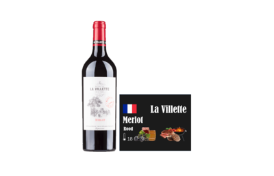 La Villette Merlot vdf 750 ml i like wine