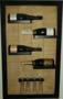 Wijnrek 4 fles / 4 glazen